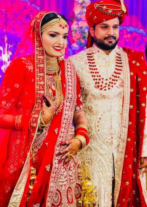 Ritesh Pandey Marriage Photo