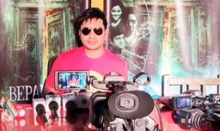Power Star Sanjeev Mishra की 3 नयी फिलमों का Poster Launch.